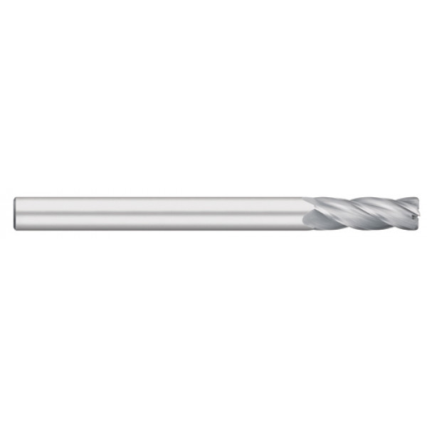 4 Flute Single End Extra Long with Radius