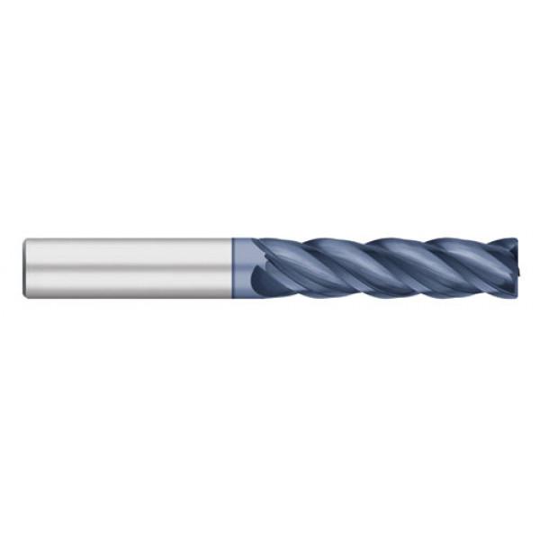 VI Pro | 4 Flute Long ALCRO | MAX Coated with Radius