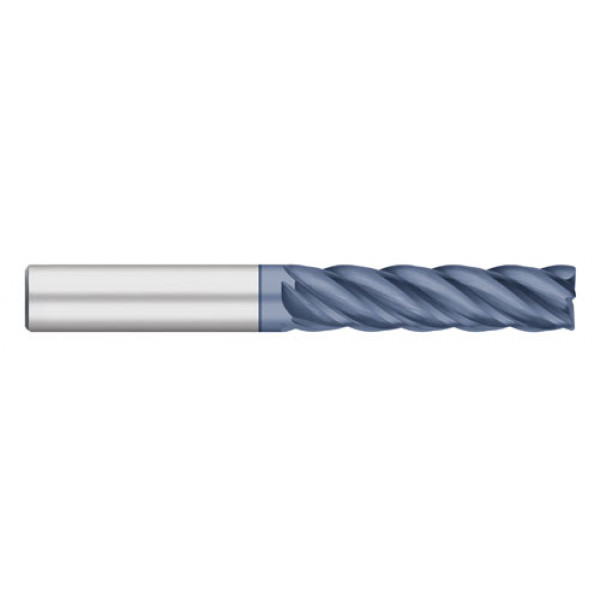 VI Pro | 5 Flute Long ALTIN Coated with Radius