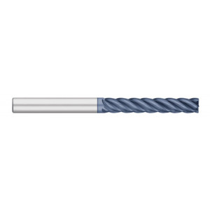 VI Pro | 5 Flute Extra Long ALTIN Coated with Radius