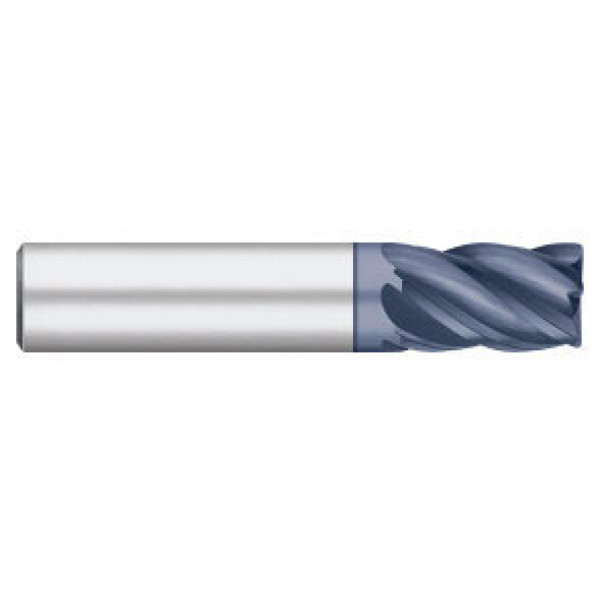 VI Pro | 5 Flute Stub ALCRO | MAX Coated with Radius